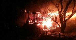 Požiar prístavby rodinného domu v obci Kopernica