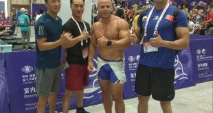 Erik Noskovič vybojoval na Majstrovstvách sveta hasičov a policajtov už dva zlaté kovy