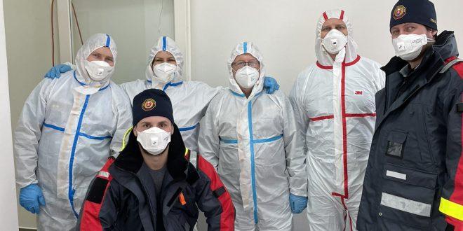Počas nasledujúcich dní pomôžu pri testovaní opäť hasiči